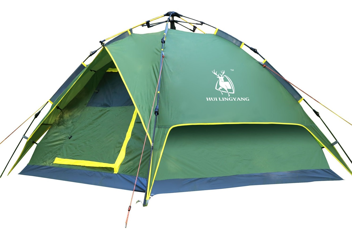 HuiLingYang Outdoor Instant 4-Person Pop Up