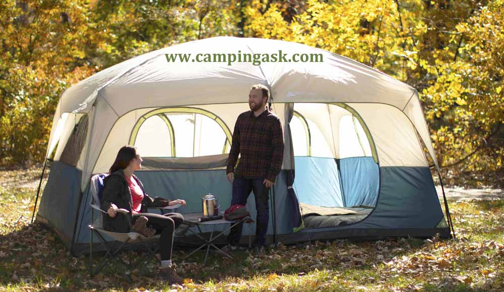 Ozark Trail Family Cabin 10 Person Camping Tent