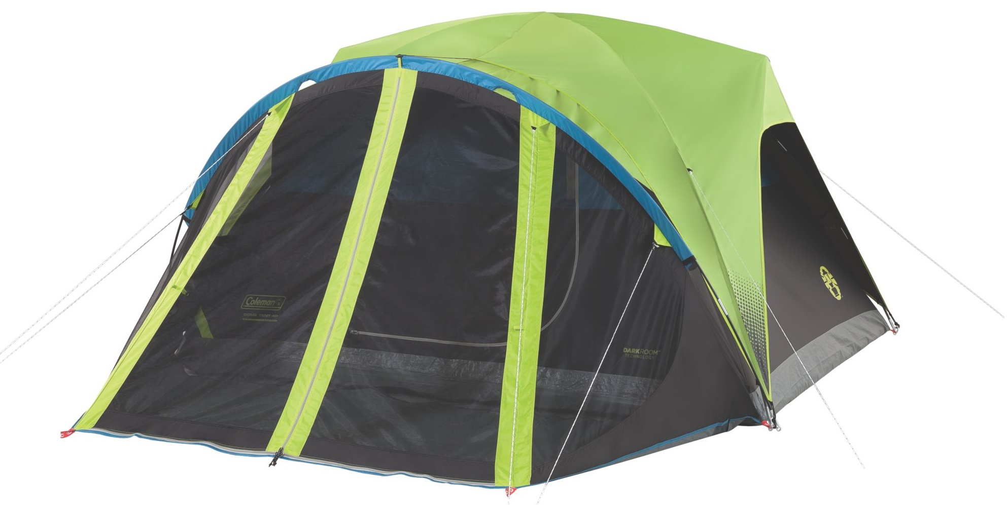Coleman Carlsbad 4-Person Dome Tent with Screen Room